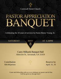 Appreciation Banquet Flyer Template