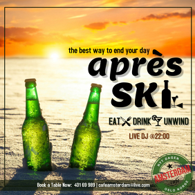 après ski the best way to end your day