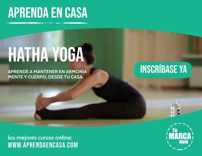 Aprenda en casa hatha yoga