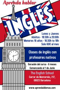 Aprenda Inglés Curso Folleto