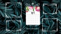 April desktop wallpaper Digitale Vertoning (16:9) template