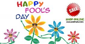 April Fool's Day Facebook Template