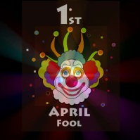 April fool, event,wish Instagram Post template