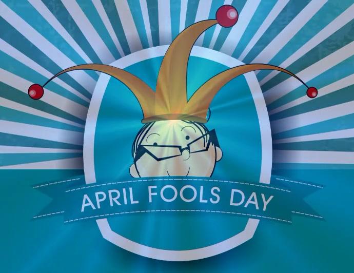 April Fools Day Flyer Løbeseddel (US Letter) template