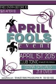 April Fools Event