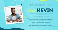 Aqua Employee Spotlight Facebook Shared Image template