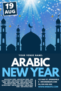 Arabic New Year Poster