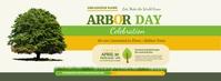 Arbor Day Event Facebook Cover Photo Facebook-Cover template