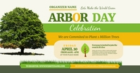 Arbor Day Event Facebook Shared Image template