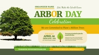 Arbor Day Event Twitter Post template