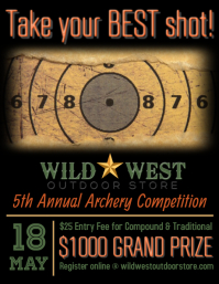 Archery Competition Flyer