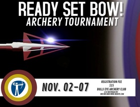 ARCHERY TOURNAMENT AD DIGITAL