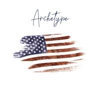 Archetype flag photo album art cover Обложка альбома template