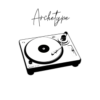 Archetype vinyl photo album art cover ปกอัลบั้ม template