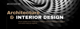 Architecture Design Flyer Cover na Larawan ng Facebook template
