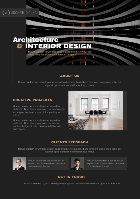 Architecture Design Flyer