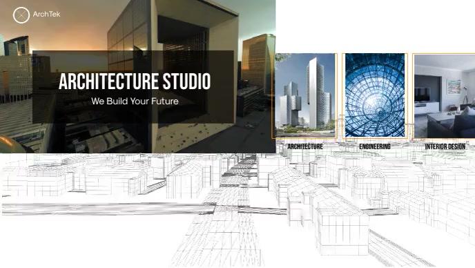 Architecture Studio Facebook Video template