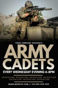 Army Cadets Poster