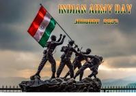 Army Day Postkarte template
