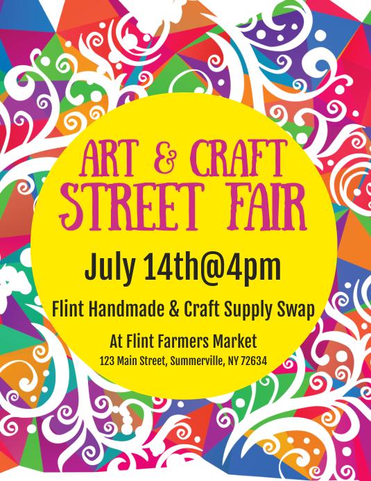 Art & Craft Street Fair Flyer