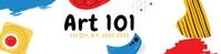 Art 101 Google Classroom Banner template