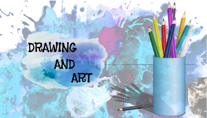 Art blog header template