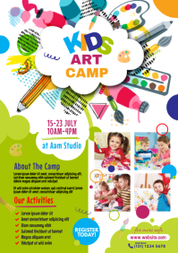 Art Camp Flyer
