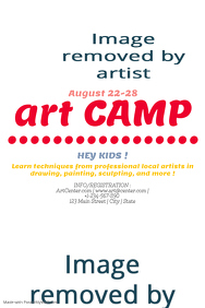 Art Camp Poster Template