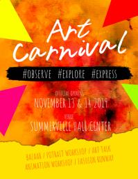 Art Carnival Flyer