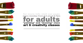 Art Classes Facebook image