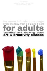 Art classes Poster Template