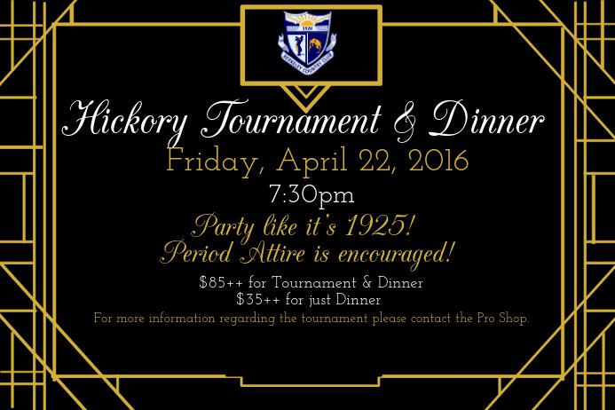 Art Deco/Gatsby Flyer