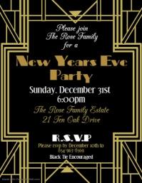 Art Deco New Years Eve