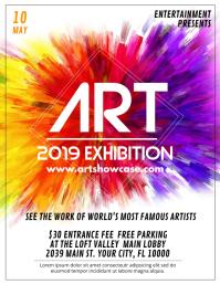 260+ Exhibition Customizable Design Templates | PosterMyWall
