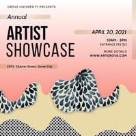 Art Designer Showcase Instagram Post