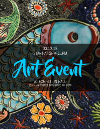 Art Event Flyer
