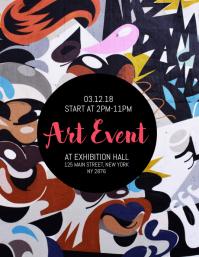 Art Event Flyer