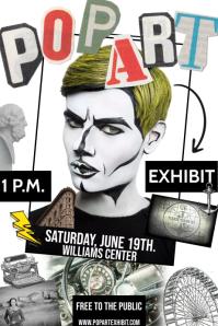 ART EXHIBIT Plakat template