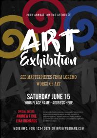 Art Exhibition Flyer Template