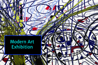 Art Exhibition Poster-customizable
