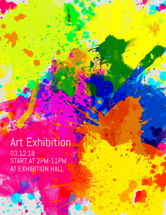 Art Exhibition Flyer