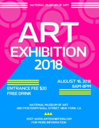 Art Exhibiton Flyer