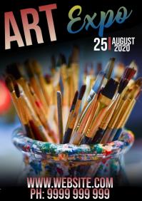 Art Expo A5 template