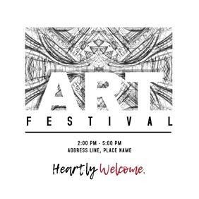 Art Festival Invitation