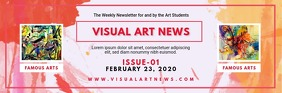Art Gallery Schedule Email Header