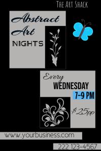 Art Nights Poster Template