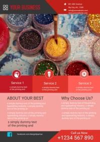 art services flyer