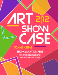 2 160 customizable design templates for art show postermywall