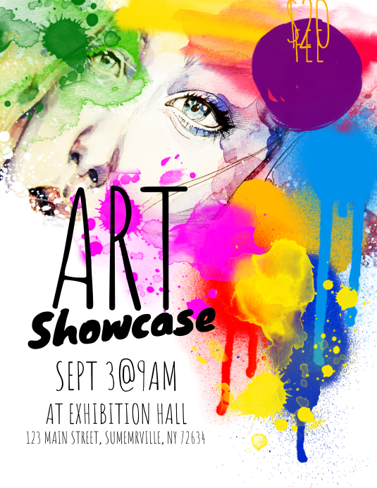 Art Showcase Flyer