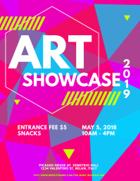 Art Showcase Flyer